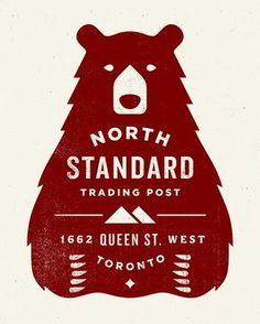 #design #branding #brand #identity #logo #north #standard #bear: