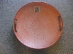 vintage orange snow disc - Looks like ours.