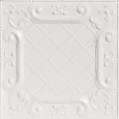 Decorative Ceiling Tiles, Inc. Store - Romeo, Romeo - Shanko Tin Plated Steel Ceiling Tile -