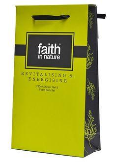 Faith in Nature Revitalising & Energising Gift Bag