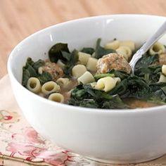 Slow Cookerker Italian Sausage Meatball Soup