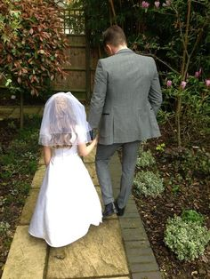He walked you down the aisle when you wanted to have a pretend wedding. | 29 Reasons There's No Bond Quite Like A Father-Daughter Relationship