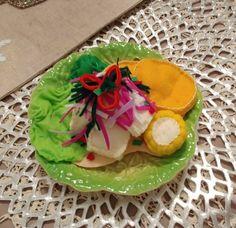 Tacos, Mexican, Felt, Ethnic Recipes, Handmade, Felting, Hand Made, Feltro, Mexicans
