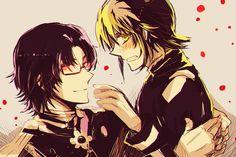 C-cu-cute......o/////o Ichinose Guren and Hyakuya Yuuichiro~