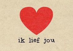 KaartWereld - ik lief jou hart kaart