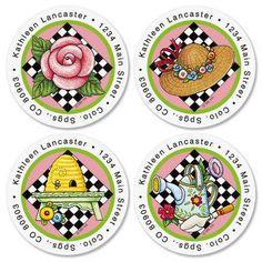 Mary Engelbreit®Round Address Labels(4 Designs) $8.99