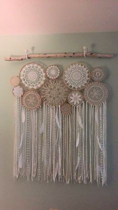 Dream catcher using dollies: