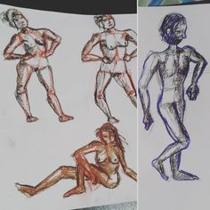 Some studies but 3 without model. They look weird thus but it is normal. XD Will improve the human anatomy drawing. Human Anatomy Drawing, Fantasy Art, Weird, Sketch, Study, Drawings, Model, Sketch Drawing, Studio