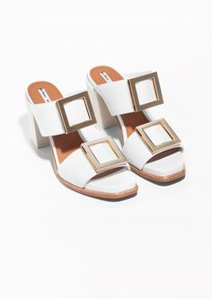 & Other Stories | Buckle Detail Sandals.