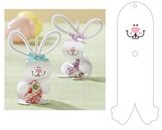 Easter lollipop template - craft