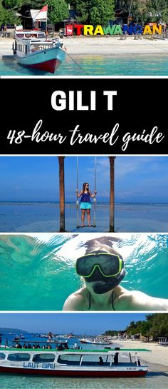 Read This Before Travelling To The Gili Islands, Indonesia Gili T - Travel Guide. Travelling to Gili T in the Gili Islands, Indonesia? Find out the best things to do, places to stay and what you just shouldn't miss! Vietnam, Voyage Bali, Thailand, Gili Trawangan, Gili Island, Hotels, Koh Tao, Travel Guides, Travel Tips