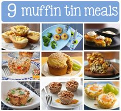 9 Little Meals: Muffin Tins for Not Just Muffins | Edible Crafts | CraftGossip.com