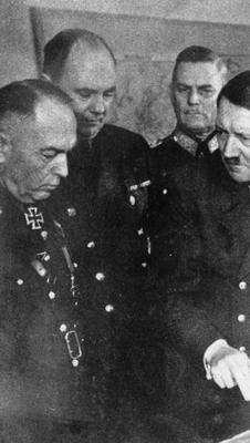 Romanian leader Ion Antonescu looking not impressed by Hitler's knowledge at directing war. 9 Mai 1945, Military Photos, Historical Images, Rare Photos, World War Ii, Wwii, Germany, Romania, People