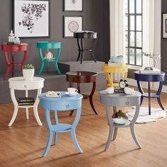Shop for Burkhardt Tripod Round Wood Accent Table by INSPIRE Q. Get free shipping at Overstock.com - Your Online Furniture Outlet Store! Get 5% in rewards with Club O!