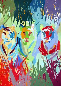 Britta Johanson. Billedkunstner, succesbilleder, udsmykninger, kunstprojekter med børn.