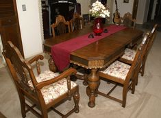 1920 S Antique Dining Room Set Instraisal Sets Victorian Tables