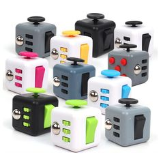 Cheap magic cube, Buy Quality puzzle magic directly from China cube toy Suppliers: Hot Fidget Cube Toys Squeeze Fun Stress Reliever Fidget Toys Puzzle Magic Cube Toys Stress Cube Come With Box Stress Wheel Puzzles, Edc, Cubes, Cube Desk, Fidget Tools, Stress Cube, Cube Toy, Fidget Cube, Anxiety Relief