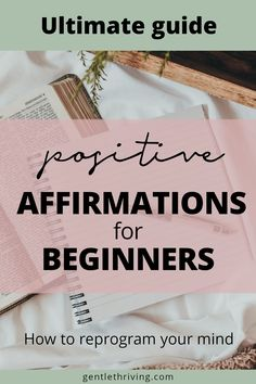 Craving a deep transformation? Struggling with self-confidence? This step-by-step guide will show you how to use positive affirmations to improve your life by changing your mind. 20 easy steps to apply in this 15-min practice, and 3 reasons why it's worth it. Positive affirmations are an effective tool to transform your life, change limiting beliefs, improve your sense of self-worth and learn to love yourself a little bit more. #positiveaffirmations #self-love #personaldevelopment Affirmations For Women, Positive Affirmations Quotes, Morning Affirmations, Affirmation Quotes, Encouragement Quotes, Happy Thoughts Quotes, Positive Attitude Quotes, Think Happy Thoughts, Better Life