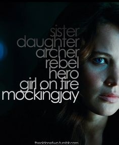 Katniss Everdeen<<< I saw the trailer for Mockingjay: Part 1 when I went to go see Guardians of the Galaxy. The trailer was so boring tho. But I still want to see it
