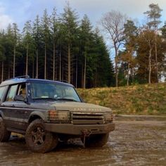 How we love it, muddy and no roads in sight. Land Rover Off Road, Roads, Offroad, Wheels, Car, Automobile, Cars, Off Road
