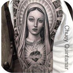 Pray for us sinners   @chueyquintanar #tattoodo