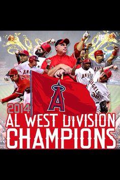 AL West Champs 2014