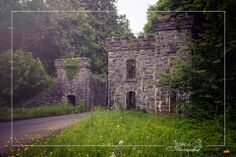 Entrance grandeur. The entrance to the mystical Castle Caldwell in Co. Fermanagh, Northern Ireland