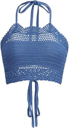 Ralph Lauren Crochet Halter Top