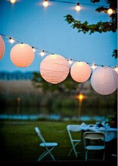 outdoor evening parties | Live Creating Yourself.: Entertaining tips from event designer David ...