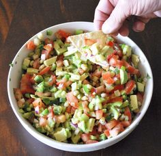 Cinco de Mayo recipe:  salsa.  Seriously...I'm not waiting for May to make this.