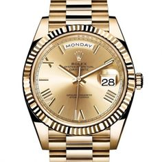 Rolex Oyster Perpetual Day-Date | Iconic Watches. (Baselworld 2015)