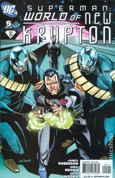 Superman World of New Krypton (2009) 5B