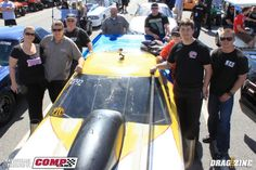 Jamie Hancock driver of the  fastest nitrous car on radials and it's a Corvette!!!