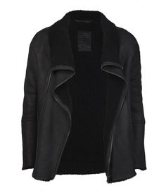 Jut Leather Jacket, Men, Leathers, AllSaints Spitalfields