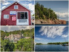 Canada-Nova-Scotia-Baddeck-Collage East Coast Travel, East Coast Road Trip, Acadia National Park, National Parks, Saint John New Brunswick, Nova Scotia Travel, Cabot Trail, Sailing Cruises, Canada 150