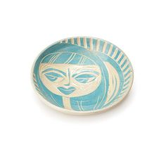 Look what I found at UncommonGoods: Turquoise Girl Trinket Dish for $14.99 #uncommongoods