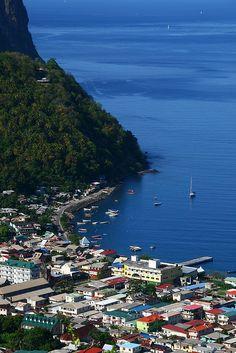 Soufriere - St. Lucia #Caribbean