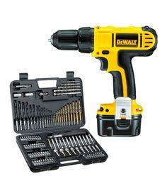 Dewalt DC740 12V 10mm Cordless Drill Tool Kit