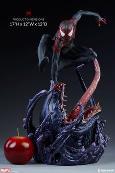 Marvel Spider-Man Miles Morales Premium Format(TM) Figure by | Sideshow Collectibles