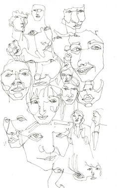 Memoire, faces. Nina Meahan