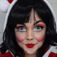 httpsscontentcdninstagramcomhphotos xft1t51 elf make upchristmas - Christmas Elf Makeup