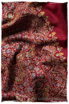 The Cabernet Shawl - Grand Pashmina Shawl
