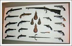 collezione armi da fuoco con licenza