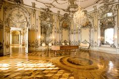 New Palace - concert chamber  Sanssouci