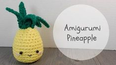Subscribe  ...  Here's a cute Amigurumi Pineapple tutorial Let me know if anything is confusing, just send me a comment Materials: Yarn Beads Felt Needle Scissors 5mm Hook Rocks or Rice Stuffing mc =. Crochet, Tutorial, Crochê, Amigurumi, Tuto,