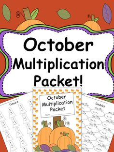 An easy print and go packet including both vertical and horizontal multiplication math facts. Pages include:  - Times 0 - Times 1 - Times 2 - Times 3 - Times 4 - Times 5 - Times 6 - Times 7 - Times 8 - Times 9 - Times 10 - Doubles