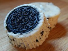 Cookies and Cream Cheesecake Cupcakes.   What could be better and oreos and cheesecake! :)