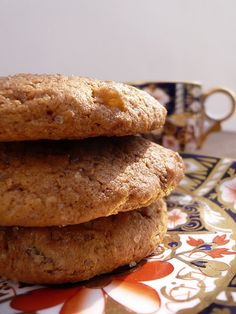 Chocolate ginger biscuits