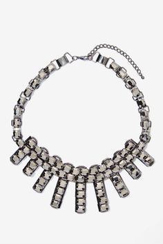 Night Fever Rhinestone Necklace