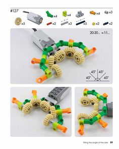 Lego Power Functions Angled Gears